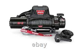 103255 Warn VR12-S 12K LB Self-Recovery Electric Winch with 90ft of Synthetic Rope