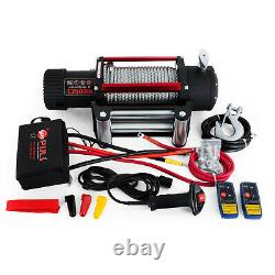 12V Electric Winch 3000LBS, 4000LBS, 6000LBS, 13500LBS Gear Train Roller Recovery