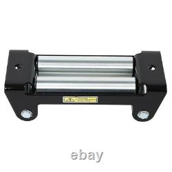 12v Electric Winch, 13000lb Synthetic Rope, Heavy Duty 4x4, ATV Recovery