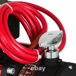 13500LB 12V ELECTRIC WINCH 4x4 Synthetic Rope Gear Train Roller Fairlead ATV UTV