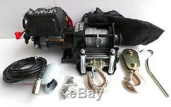 2000lb WARRIOR NINJA 12v Winch for ATV, Trailer etc