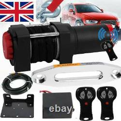 3000lb / 1360kg 12v Electric Winch with Synthetic Rope- UK Stock