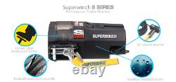 3000lb Electric Recovery Winch 12v Superwinch S3000 SYNTHETIC Rope