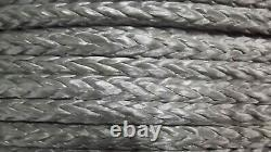 3/8 (10mm) x 300' HMPE Winch Line, Synthetic Rigging Rope, 12-Strand Braid, USA