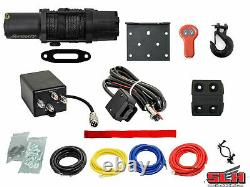 6000 Lb. UTV/ATV Winch (With Wireless Remote & Synthetic Rope)