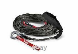 87915 Warn Spydura Synthetic 100 FT Winch Rope for Warn Winches