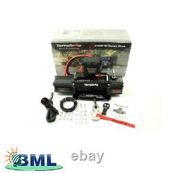 A12000 Winch Synthetic Rope Wireless + Cable Remote Control Terrafirma. Tf3301