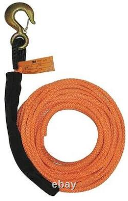 B/A Products Winch Line, Synthetic, 3/8 In. X 75 ft. 4-R3875 Wire Rope