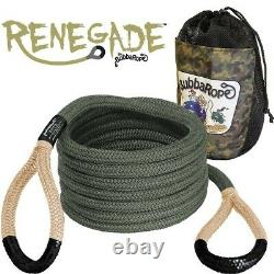 Bubba Rope 3/4 Renegade 20 Foot Power Stretch Recovery Rope 19000 Pound Limit