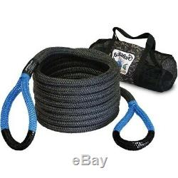 Bubba Rope 7/8 Blue 20 Foot Power Stretch Recovery Rope 28600 Pound Capacity