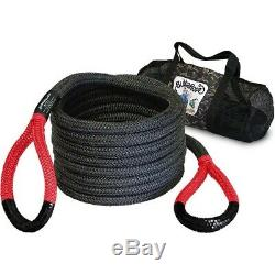 Bubba Rope 7/8 Red 30 Foot Power Stretch Recovery Rope 28600 Pound Capacity