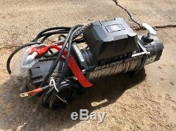 Bulldog Electric Winch 9500 Lbs With Synthetic Rope