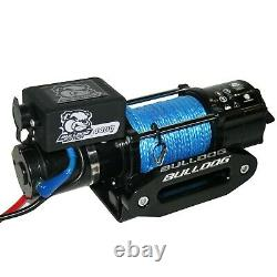 Bulldog Winch 15020 4400lb Trailer/Utility Winch 50' Synthetic Rope