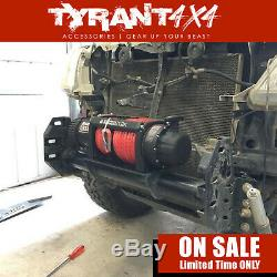 Carbon 12K 12000LB Electric Winch Synthetic Rope to suit Ford Ranger Raptor 2020