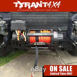 Carbon 12K 12000LB Electric Winch Synthetic Rope to suit Toyota Landcruiser 200