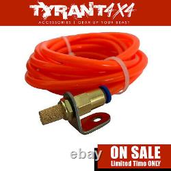 Carbon 12K 12000LB Electric Winch Synthetic Rope to suit Toyota Prado 120 Series