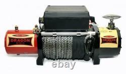 DRAGON WINCH MAVERICK DWM 12000 HD 12V/24V 12000 Ib/ 5443 kg WITH SYNTHETIC ROPE