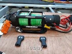 ELECTRIC WINCH RECOVERY TRUCK HI-VIZ SYNTHETIC ROPE FREE COVER £325.00 inc vat