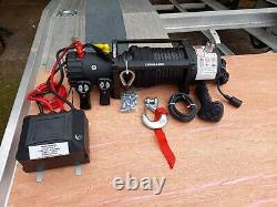 Electric Winch 13500lb Cheapest Recovery Truck Winch With Synthetic Rope