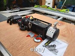 Electric Winch For Recovery Truck Recovery Winch With Synthetic Rope