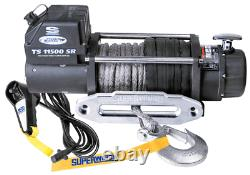 Electric Winch Superwinch Tigershark 11500 1511201 with synthetic rope 4x4 NEW