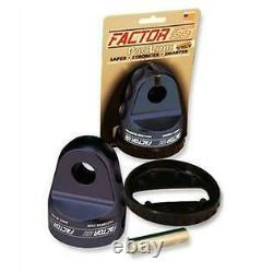 Factor 55 Loaded ProLink Shackle Mount Winch Thimble with Titanium Pin Black