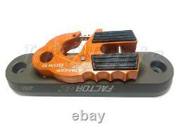 Factor 55 Orange UltraHook Winch Hook & Fairlead for Synthetic Rope Combo