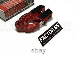 Factor 55 Red UltraHook Winch Hook For Up To 3/8 Winch Cable or Synthetic Rope