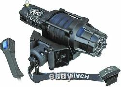KFI Products Assault Series Winch AS-50 5000 LB With Synthetic Cable Rope ATV UTV