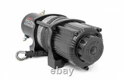 Kawasaki Mule/Teryx 4500lb Electric Winch With Synthetic Rope by Rough Country