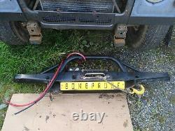 Land Rover Defender Winch Bumper And Winch With Synthetic Rope