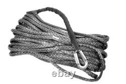 Lr All Grey 25m 10mm Synthetic Winch Rope For A12000 And M12.5s. Part- Tf3302