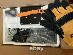 ORCISH 12V 4500lb Electric ATV UTV Synthetic Rope Winch Kit 1.3HP Motor