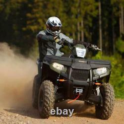 ORCISH 12V 4500lb Electric ATV UTV Synthetic Rope Winch Kits