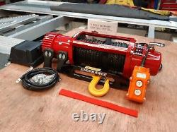 RECOVERY 13500LB WINCH SYNTHETIC ROPE TRUCK ELECTRIC WINCH @ £329.00 inc vat