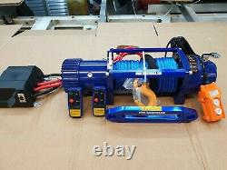 RECOVERY TRUCK 12V LIGHTWEIGHT RECOVERY WINCH SYNTHETIC ROPE @ £325.00 inc vat
