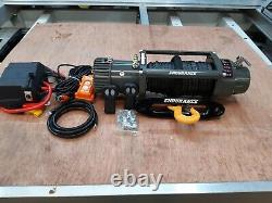 RECOVERY TRUCK WINCH 7.2HP MOTOR ELECTRIC SYNTHETIC ROPE £359.00 inc vat