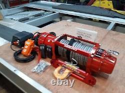 RECOVERY TRUCK. WINCH ELECTRIC 12V WINCH + SYNTHETIC ROPE @ £325.00 inc vat
