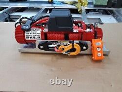 RECOVERY TRUCK WINCH & PLATE 7.2HP MOTOR SYNTHETIC ROPE WINCH @ £390.00 inc vat