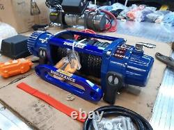 Recovery Truck Electric Winches Lightweight Synthetic Rope Winch £329.00inc Vat