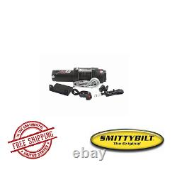 Smittybilt ATV XRC 3.0 Comp-Series Winch with Synthetic Rope & Aluminum Fairlead