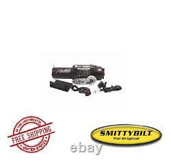 Smittybilt ATV XRC 4.0 Comp-Series Winch with Synthetic Rope & Aluminum Fairlead