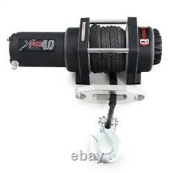 Smittybilt XRC4 Winch + Remote with Synthetic Rope & 4,000 lb. Capacity 98204