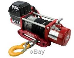 Stealth 13000lb 12v Electric 4x4 Winch with Synthetic rope inc wireless remote