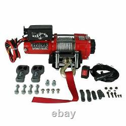 Stealth 3500lb 12v Electric Winch With Synthetic Rope ST35STA12