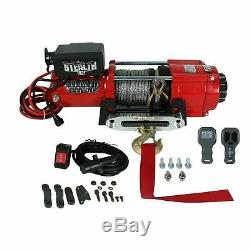 Stealth 4500lb 12v Electric Winch With Synthetic Rope