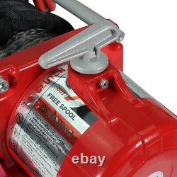 Stealth V2 13500lb 12v Winch with Synthetic Rope, Mounting Plate & Stealth Cover