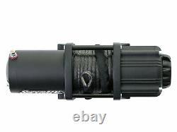SuperATV Heavy Duty 2500 Lb. Synthetic Rope ATV UTV Winch With Wireless Remote