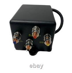 SuperATV Heavy Duty 3500 Lb Synthetic Rope Winch w Wireless Remote for ATV UTV