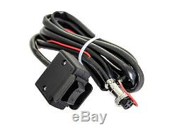 SuperATV Heavy Duty 6000 Lb. Synthetic Rope ATV UTV Winch With Wireless Remote